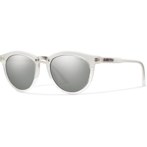 Smith Optics Questa Women's Sunglasses (Crystal Split Frames & Super Platinum Carbonic TLT Lenses)