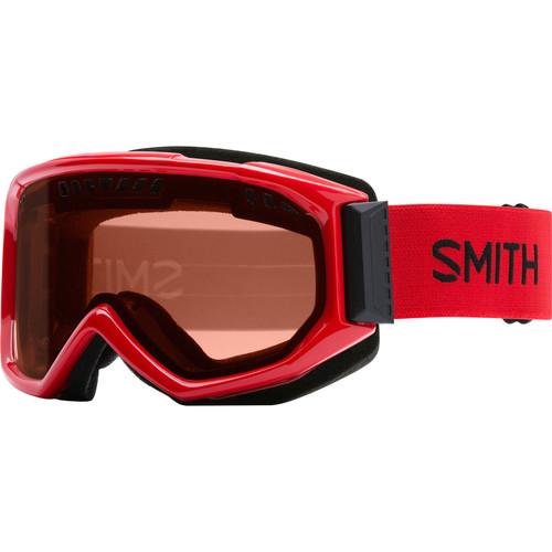 Smith Optics Medium-Fit Scope Snow Goggle (Fire Frames, RC36 Lenses)
