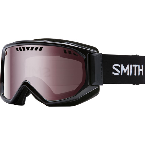 Smith Optics Medium-Fit Scope Snow Goggle (Black Frames, Ignitor Mirror Lenses)