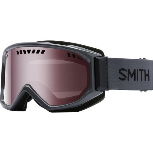 Smith Optics Medium-Fit Scope Snow Goggle (Charcoal Frames, Ignitor Mirror Lenses)