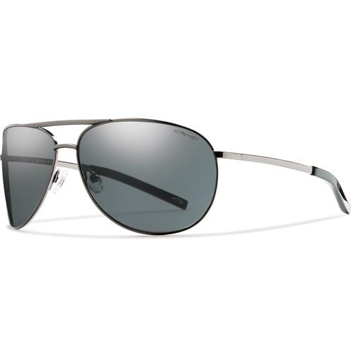 Smith Optics Serpico Sunglasses (Gunmetal - Polarized Gray Carbonic TLT)