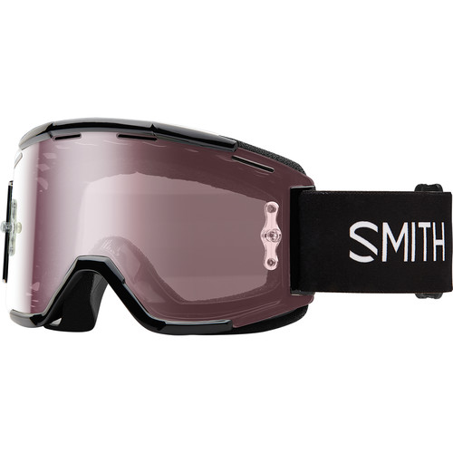 Smith Optics Squad MTB Off Road Goggle (Black Frame, Ignitor Mirror Lens)