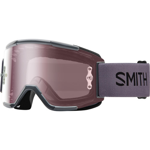Smith Optics Squad MTB Off Road Goggle (Charcoal Frame, Ignitor Mirror Lens)