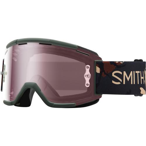 Smith Optics Squad MTB Off Road Goggle (Disruption Frame, Ignitor Mirror Lens)
