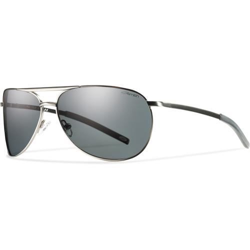 Smith Optics Serpico Slim Sunglasses (Matte Gunmetal - Polarized Gray Carbonic TLT)