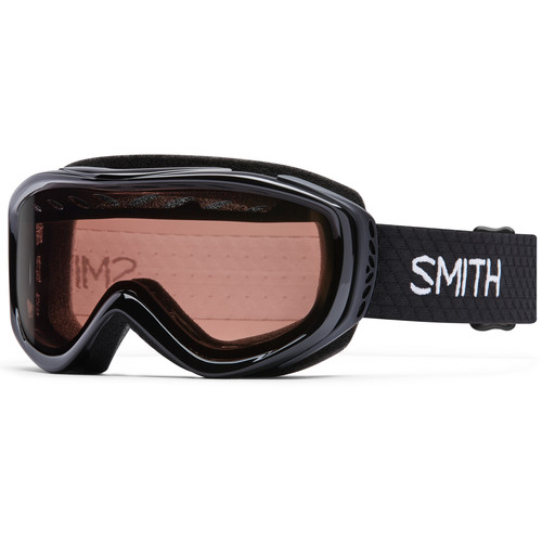 Smith Optics Women's-Fit Transit Snow Goggles (Black Frames, RC36 Lenses)
