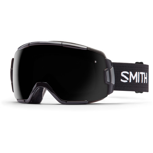Smith Optics Medium-Fit Vice Snow Goggle (Black Frame, Blackout Lens)