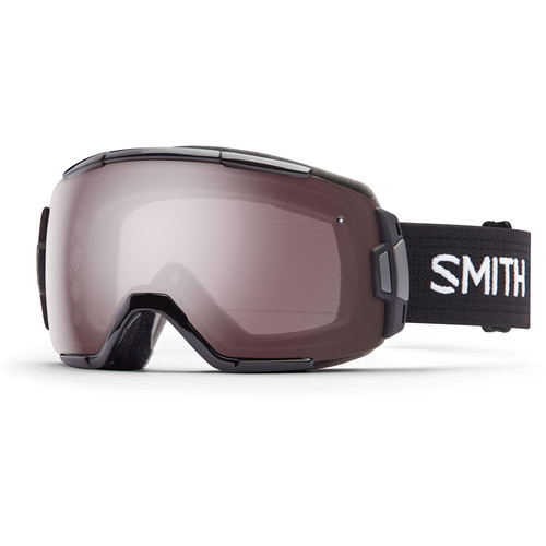 Smith Optics Medium-Fit Vice Snow Goggle (Black Frame, Ignitor Mirror Lens)