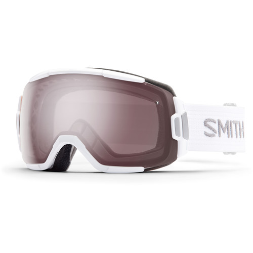 Smith Optics Medium-Fit Vice Snow Goggle (White Frame, Ignitor Mirror Lens)