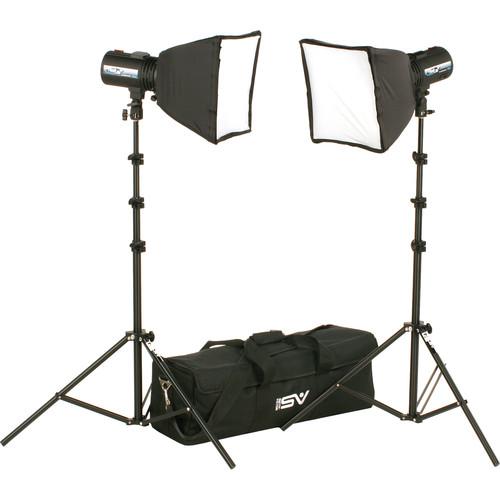 Smith-Victor FL525K 2-FlashLite 240Ws Basic Studio Kit