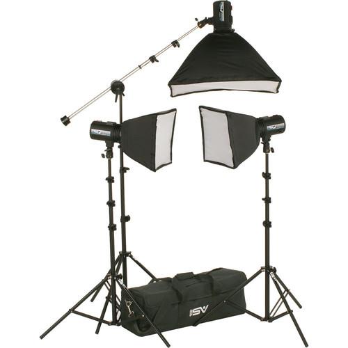 Smith-Victor - FL550K 3-FlashLite 360Ws Basic Studio Kit