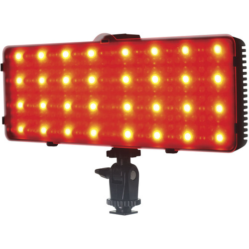 Smith-Victor SmartLED Spectrum On-Camera Bi-Color LED Light with RGB