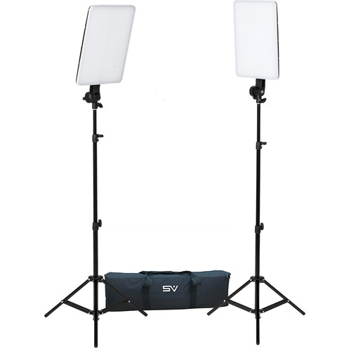 Smith-Victor SlimPanel Bi-Color LED 2-Light Kit