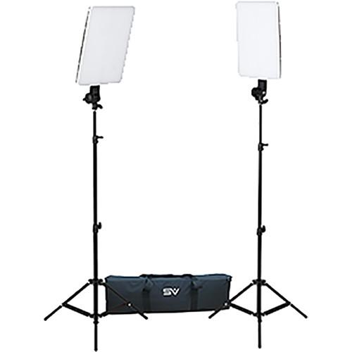 Smith-Victor SlimPanel 800W 2-Light Daylight LED Kit