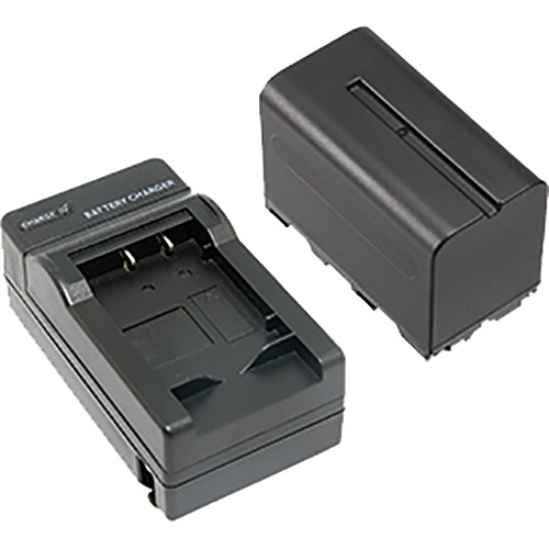 Smith-Victor F970 Battery and Charger Bundle for SlimPanel LED Light