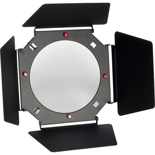 Smith-Victor 4-Leaf Barndoors with Grid and Filters for CooLED 100 Light