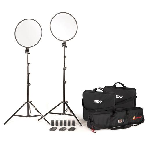 "Smith-Victor Edge360 2-Light 18"" Daylight Kit"