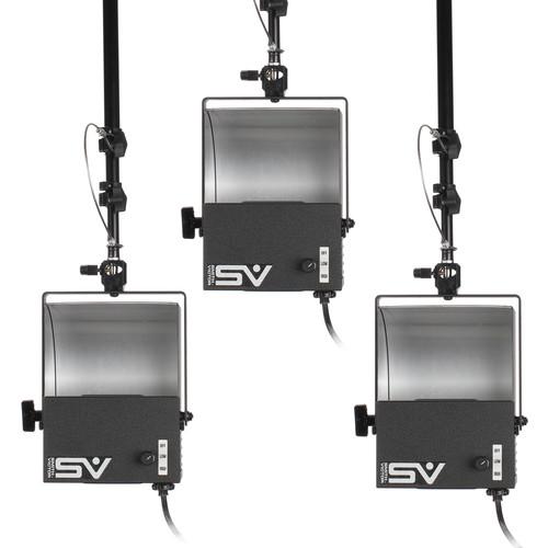 Smith-Victor 3-Light Mugshot Kit