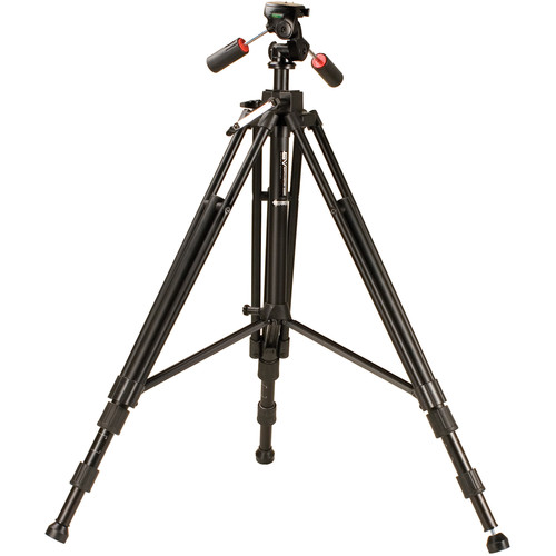 Smith-Victor Propod IVA Aluminum Tripod with PRO-4A 3-Way Pan/Tilt Head