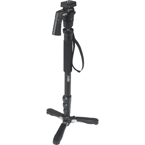 "Smith-Victor 58"" QuikGrip Monopod with Pistol Grip Ball Head"