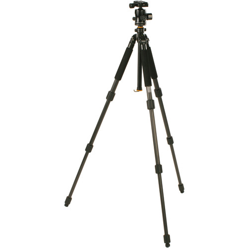 Smith-Victor CF100X Black Diamond Carbon Fiber Tripod with Ball Head