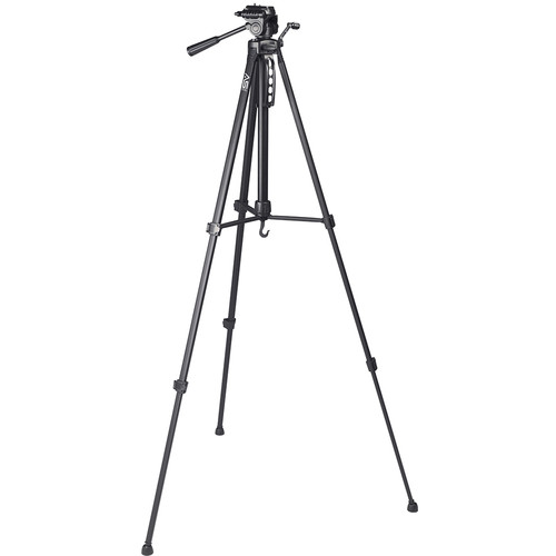 "Smith-Victor 65"" T65 Tripod with 3-Way Pan & Tilt Head"
