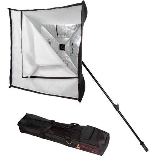 "Photoflex SpeeDome 28"" Collapsible Softbox Kit for Speedlights and LED"