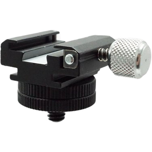 "Dot Line 360° Positional Locking Accessory Shoe with 1/4""-20 Male Mount"