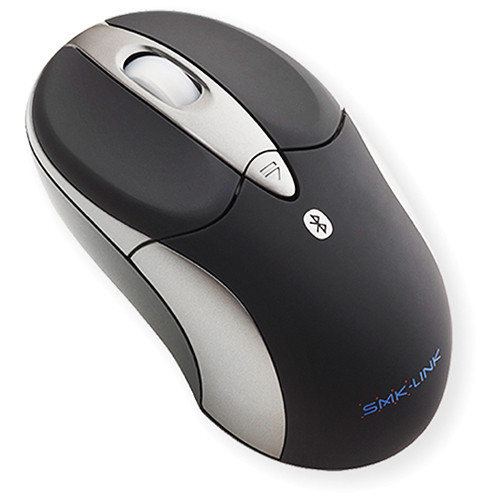 Smk-link VP6155 Wireless Rechargeable Bluetooth Notebook Mouse (Gray)