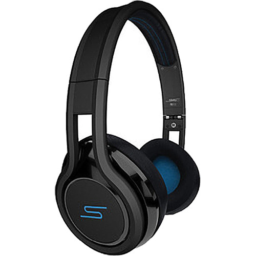 SMS Audio Street by 50 On-Ear Wired Headphones (Black)