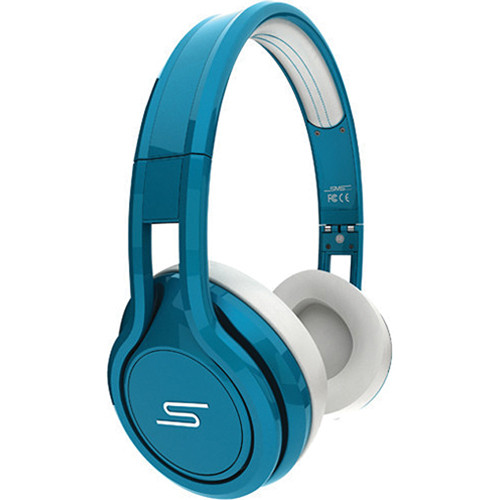 SMS Audio Street by 50 On-Ear Wired Headphones (Teal)
