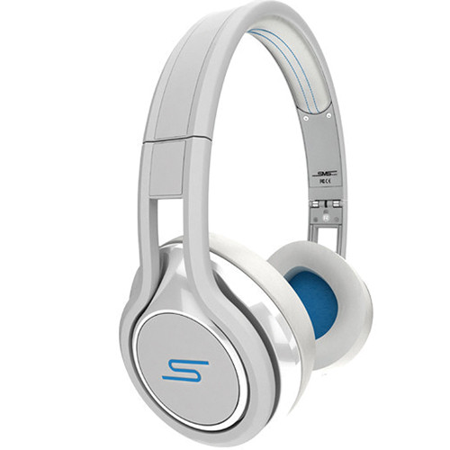 SMS Audio Street by 50 On-Ear Wired Headphones (White)