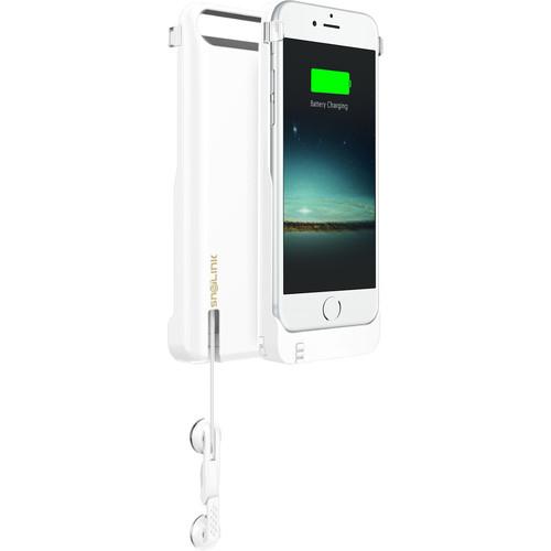 Snailink EZtalk Battery Case for iPhone 6/6s (White)