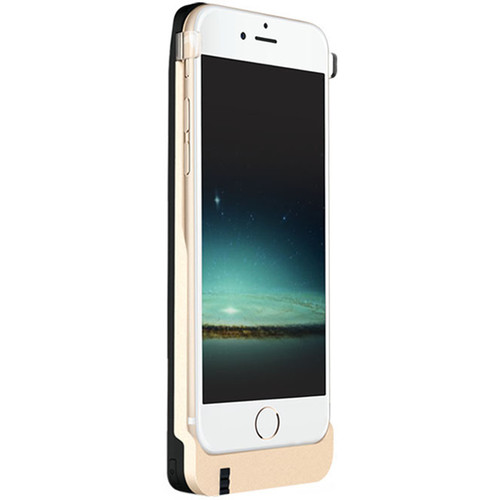 Snailink EZtalk Battery Case for iPhone 6/6s (Black and Gold)