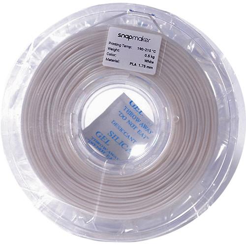 Snapmaker 1.75mm PLA Filament (500g, White)