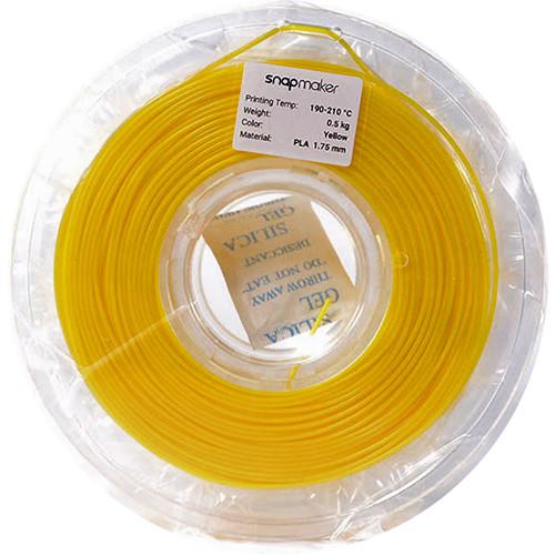 Snapmaker 1.75mm PLA Filament (500g, Yellow)