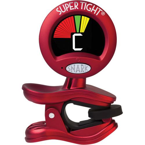 Snark ST-2 Super Tight Clip-On All Instrument Tuner (Red)