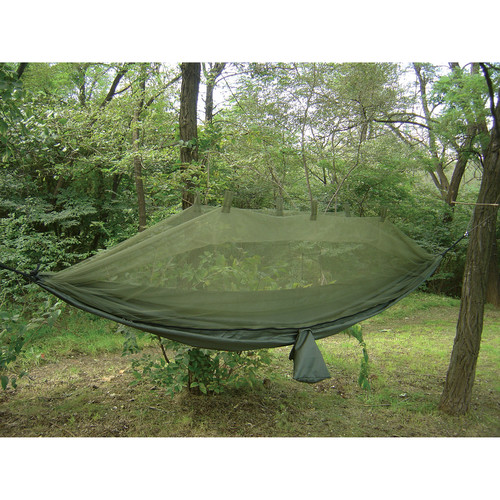 Snugpak Jungle Hammock with Mosquito Net (Olive Drab)