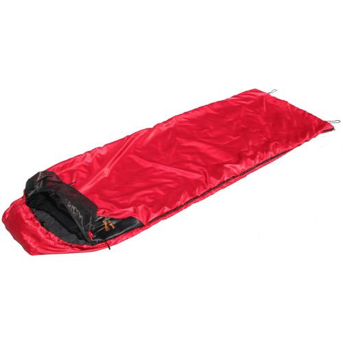 Snugpak Travelpak Traveler 45°F Sleeping Bag (Red, LH)