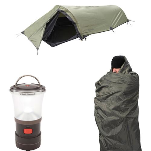 Snugpak Ionosphere 1-Person Shelter & Jungle Blanket Kit