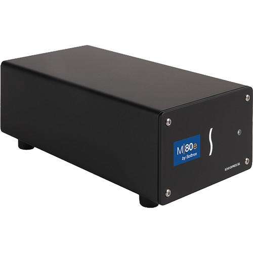 Softron M80E Bundle 8xMR/Dongle+Deltacast 12G/2C Card (2x12G or 8x3G)+Sonnet SEL TB3 Chassis