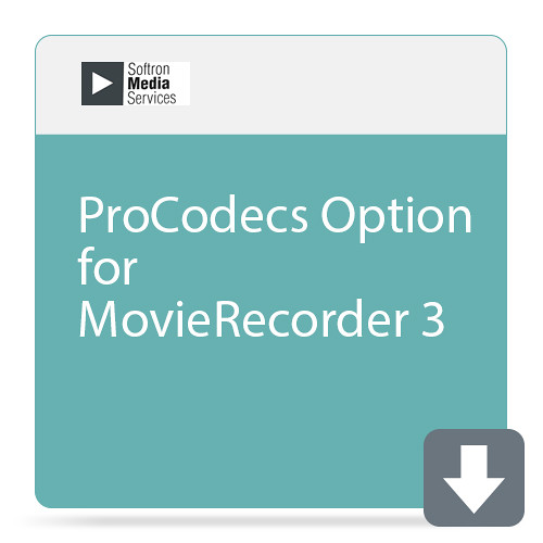 Softron ProCodecs Option for MovieRecorder 3
