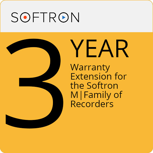 Softron M-Care 3-Year Warranty Extension for the Softron M Family of Recorders