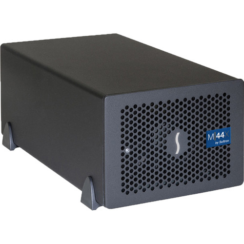 Softron M44X Bundle (4 Channel Ingest SDI 3G / 4 Otave, TB3 Expansion Chassis, Dongle Included)