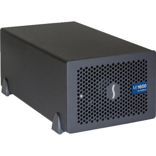 Softron M1600-8xMovieRecorder License/1Dongle/2x8 SDI 3G In Vid Card/1Thunderbolt 3Expnsn Chass/Black TB Cbl