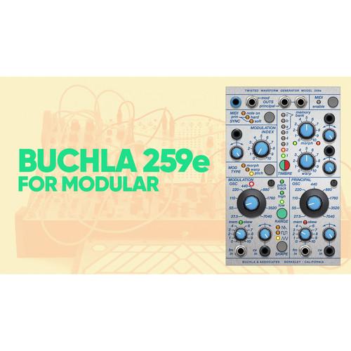 Softube Buchla 259e Twisted Waveform Generator Plug-In for Modular