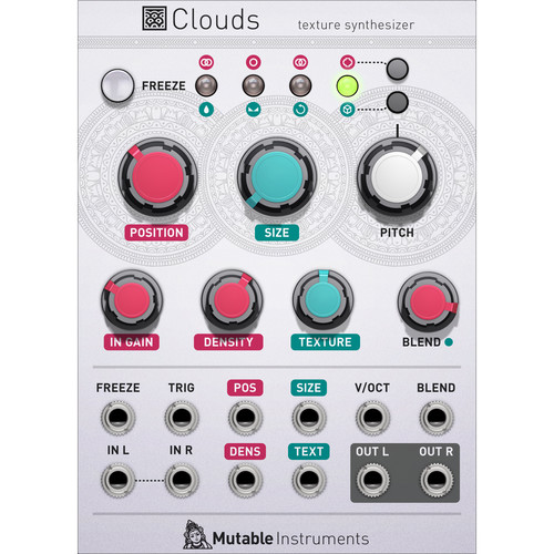 Softube Clouds by Mutable Instruments - Expansion Module for Modular Virtual Synthesizer (Download)