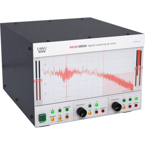 Softube Weiss Deess - De-Esser for Pro Audio Applications (Software, Download)
