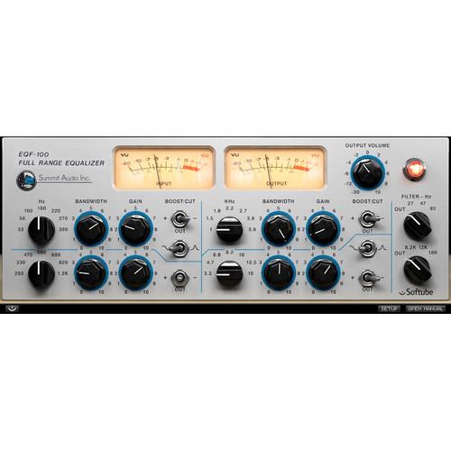 Softube Summit Audio EQF-100 Full Range Equalizer Plug-In (Native)