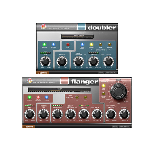 Softube Fix Flanger and Doubler - Modulation and Vocal Doubling Plug-Ins (Download)